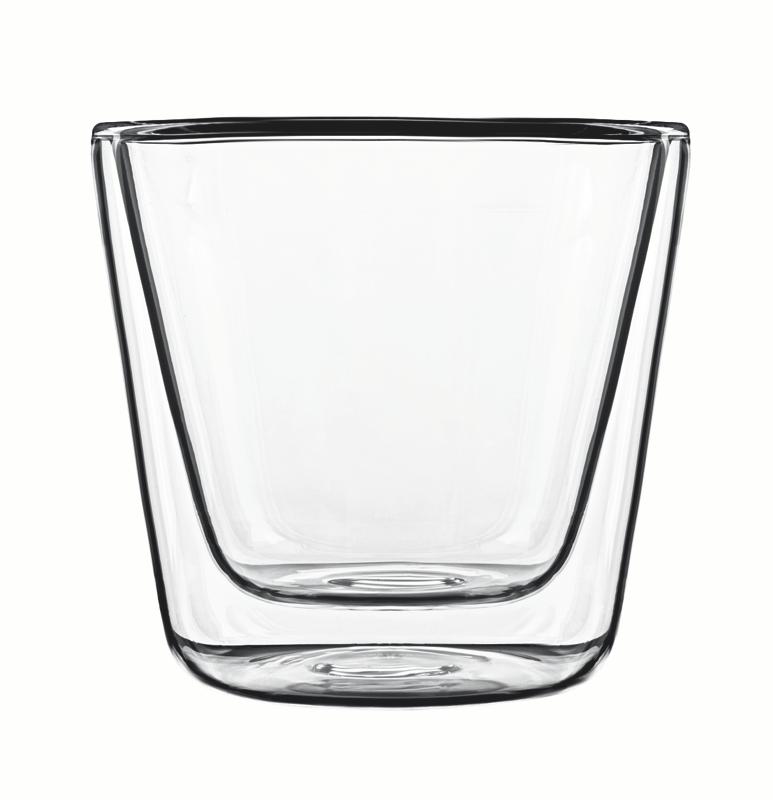 Food & Design Glas 120 ml konisch Thermic Glass, im 2er Geschenkkarton