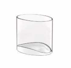 Michelangelo Professional Line Amuse-Gueule Schälchen 130 ml oval, im 6er Geschenkkarton
